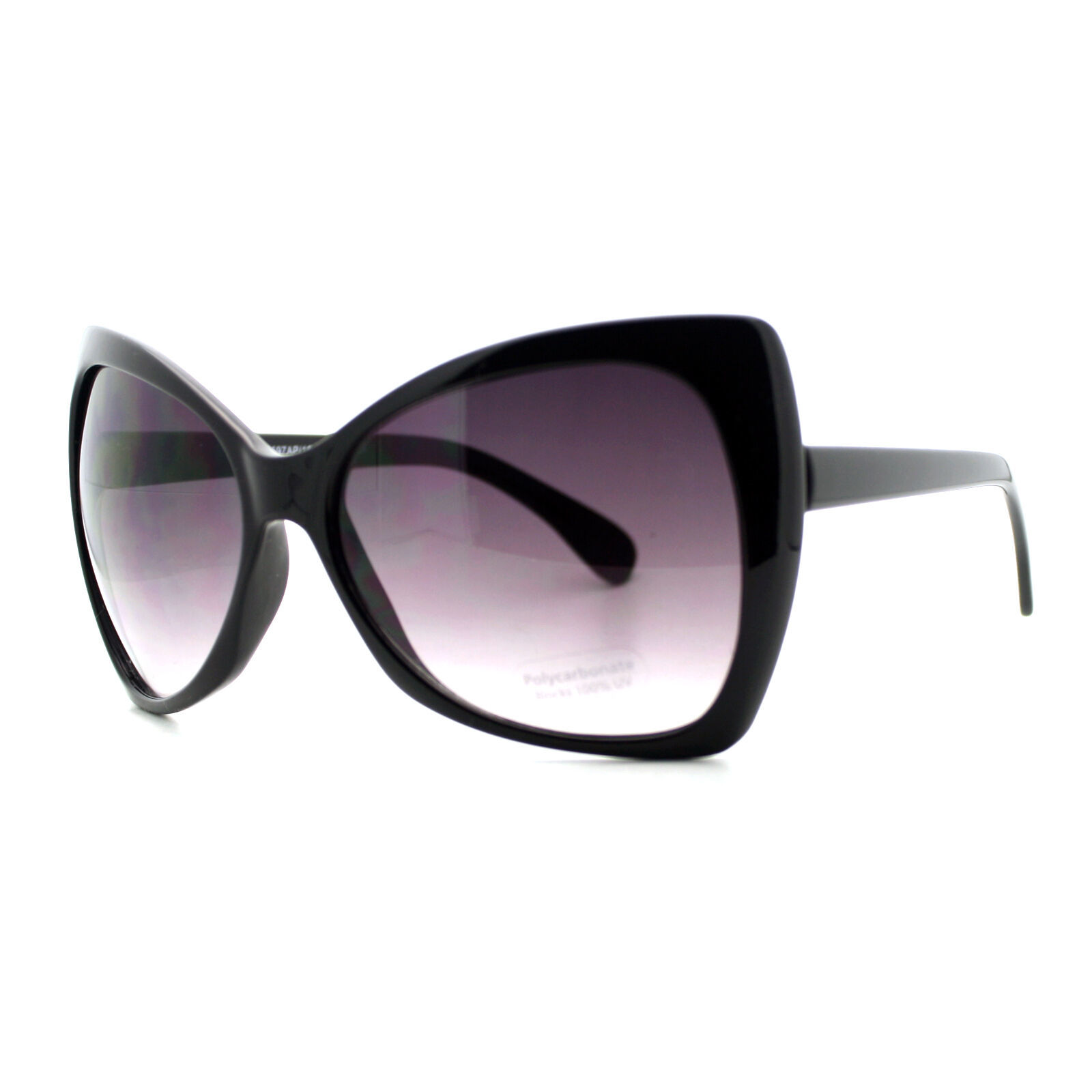 Celebrity Fashion Sunglasses Womens Oversized Bow Ribbon Butterfly Frame