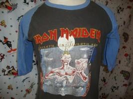 Vtg Iron Maiden Seventh Son 1988 Tour T Shirt Sz M - $494.94