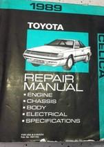 1989 Toyota Celica Service Repair Shop Workshop Manual OEM Factory  - $39.55