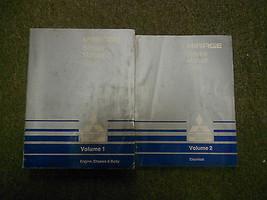 1988 Mitsubishi Mirage Service Werkstatt Handbuch 2 Volume Set Fabrik Oem 88 - $18.96
