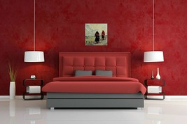2 in afghanistan in red walled living room thumb200