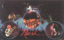 RUSH 1979 Mini-Poster Sticker near MINT - $5.98