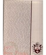 Northrup High School, Ft. Wayne, Indiana 1977 Yearbook, Bear Tracks - $27.26