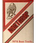 Northrup High School, Ft. Wayne, Indiana 1978 Yearbook, Bear Tracks - $27.26