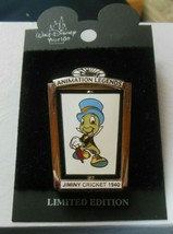 Walt Disney April Pin of the Month  Jiminy Cricket 2002 Limited Edition - $33.66