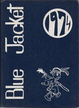 Shawnee Junior High School, Ft. Wayne, Indiana, 1974 Yearbook, Blue Jacket - $27.26