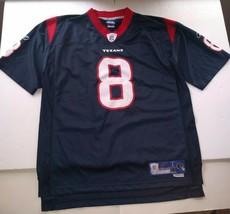 Houston Texans David Carr Reebok Large Football Jersey Sewn - $25.73