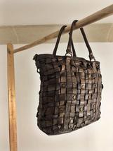 Intreccio 101 handmade woven leather bag  image 5