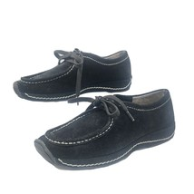 New without tags Naturalizer Black Suede Lace Up Shoes 5.5M - $24.75