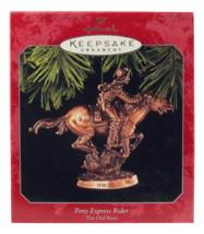 Hallmark pony express rider ornament  1 thumb200
