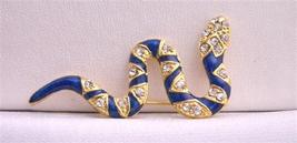 Snake Brooch Colorful Decorated with Cubic Zircon Brooch Pin - $8.83
