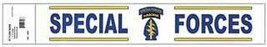 Us Army Special Forces Military Car Window Decal - $15.33