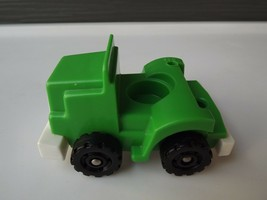 Vintage Fisher Price Little People Green Big Rig Semi Truck - $9.49