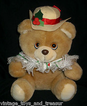 Vintage 1986 Applause #21023 Hollybeary Orsacchiotto Ragazza Peluche Cap... - $30.73