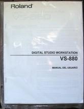 Roland VS-880 Digital Studio Workstation Manual In Spanish, Manual Del U... - $14.84