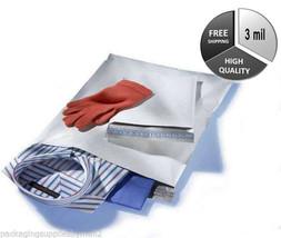 """1000 10"""" x 13"""" White Poly Mailer Shipping Plastic Bags 10 x 13 3 Mil - $76.58"""