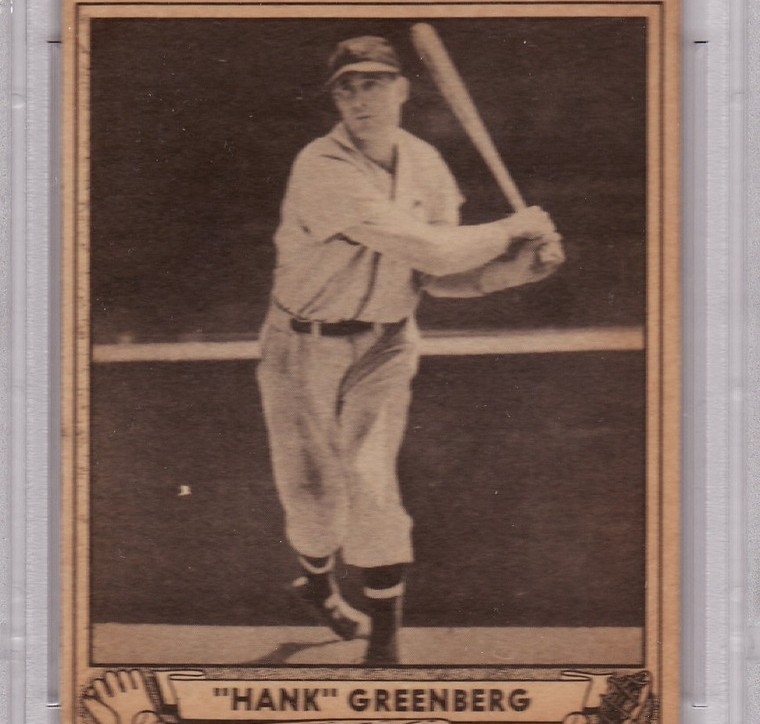Primary image for Hank Greenberg 1940 Play Ball #40 PSA 5 EX