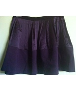 THEORY silk purple eggplant skirt mini miniskirt Jensina Serenity NWT $1... - $69.99