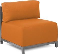 Chair Howard Elliott Axis Orange Soft Burlap-Like Texture - $1,109.00