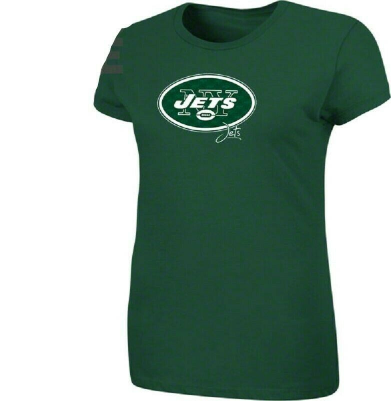 NFL New York Jets Women's Plus Shirt Game Day Tradition Tee Football T-Shirt