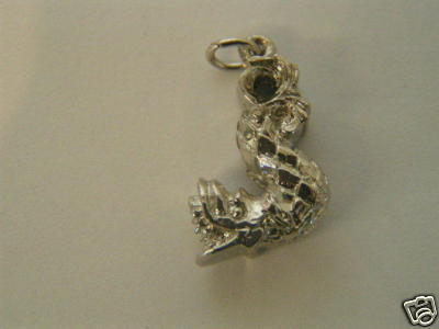 Primary image for Vintage Sterling Silver Chinese Dragon Charm