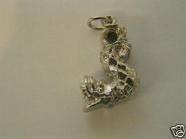 Vintage Sterling Silver Chinese Dragon Charm - $25.99