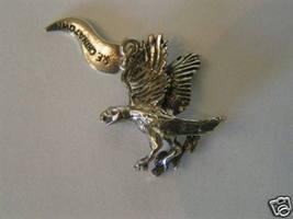 Vintage Sterling Silver Eagle Charm - $15.99