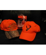 Youth Hunter Orange Caps & Vest - $20.00