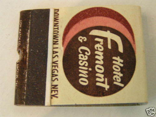 Primary image for 1959 Fremont Hotel Casino Las Vegas NV Matchbook