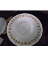 Corelle Butterfly Gold Pattern Saucer (1)-discontinued pattern - $12.00