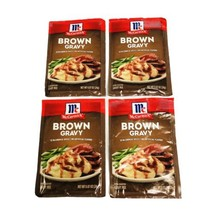 McCormick Brown Gravy Mix .87 oz. BB 09/2022 New 4 Total - $14.03