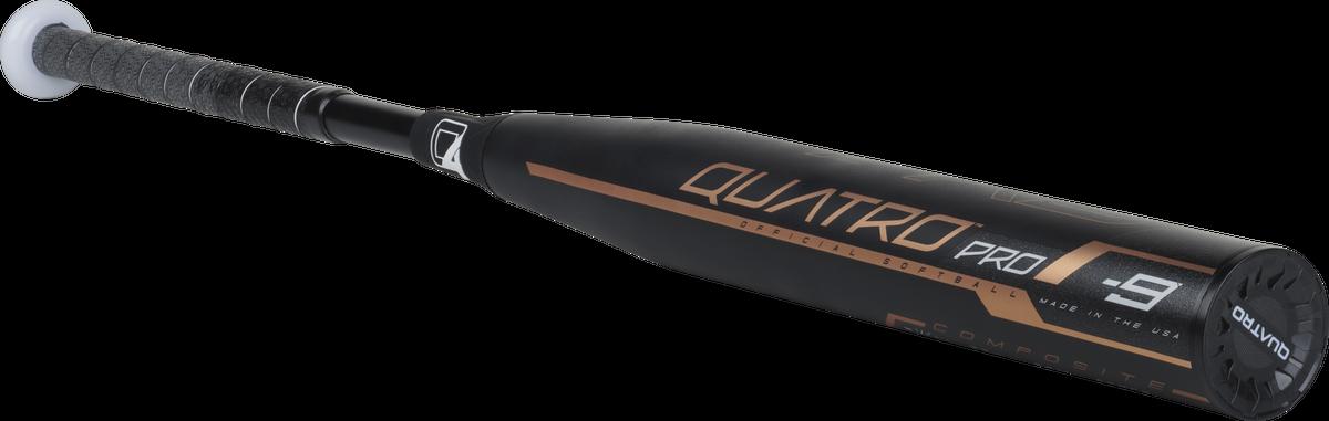 2018 Rawlings Quatro Pro -9  Softball Bat FPQP9 34/25 High School College DEMO - $180.49