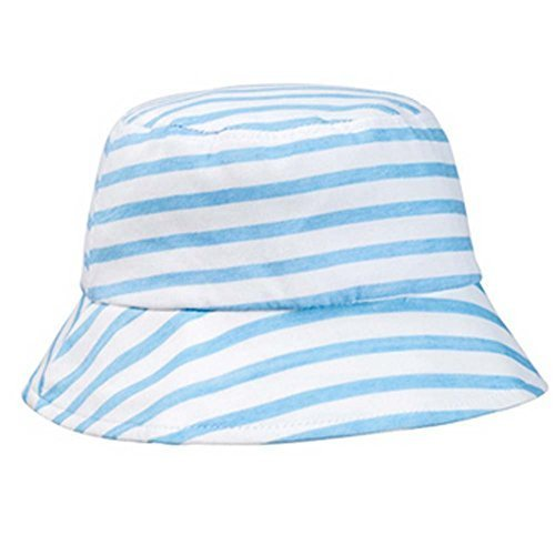 Fashion Stripe Sun-resistant Cotton Fisherman Baby Cap Infant Hat