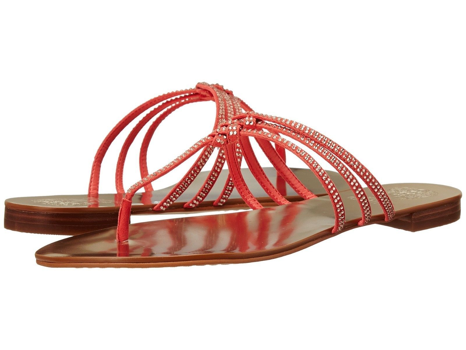 Primary image for Vince Camuto Mariella Jeweled Sandals, Sizes 5.5-8.5 BitterSwt Grapefruit True S