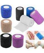 Self-Adhesive Elastic Bandage Gauze Tape Sport Medical Muscle Ankle Wrap... - $1.87+