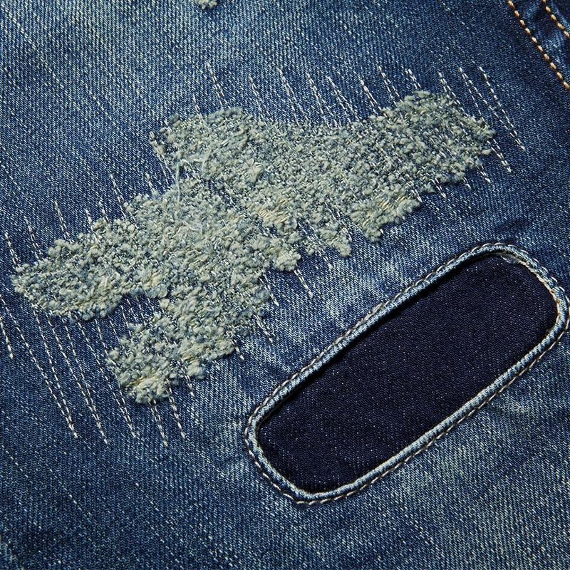 Sportsman fashion personality men's jeans image 7