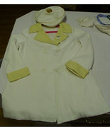 Early Century or Turn of Century Child's Coat and matching Hat Dry Cleaned Free  - $69.99