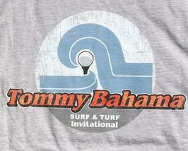 Tommy Bahama Men's T-Shirt, Surf and Turf, Size M, Grey, New w/Tags - $32.00