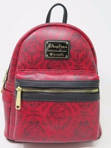 Disney Parks Loungefly Pirates of the Caribbean Redd Mini Backpack Redhead Red - $94.04