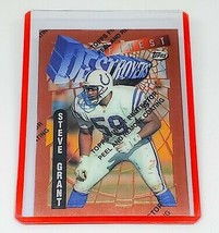 NFL STEVE GRANT INDIANAPOLIS COLTS1995 TOPPS FINEST DESTROYERS INSERT #2... - $0.50