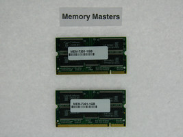 Mem-7301-1gb 1 Go Approuvé 2x512 Drachme Modules de Mémoire pour Cisco 7301 - $208.76