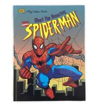 Marvel Comics Meet the Amazing Spiderman A Big Golden Book 1996 - $22.29