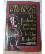 1995 Explaining the Inexplicable The Rodent's Guide to Lawyers First Edi... - $12.00