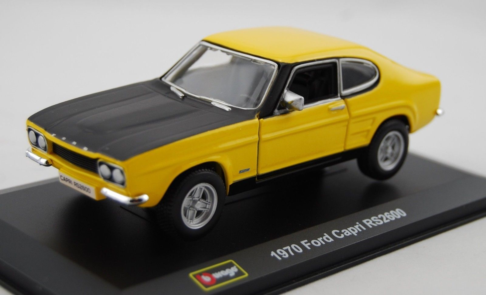 2 Colors 1 32 Scale Diecast 1970 Ford Capri Rs2600 Classic Vehicle Car Model Toy