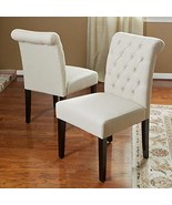 Broxton Linen Dining Chairs 2-pack - Dining  Room Furniture - Natural - ... - $299.99