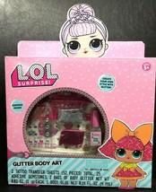 L.O.L. Doll Surprise! Glitter Body Art New - $12.77