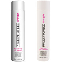 Paul Mitchell Super Strong Shampoo and Conditioner 10oz Duo - $28.71