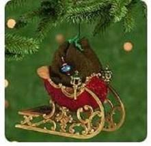 Hallmark Keepsake Ornament 2001 Santa's Sleigh Set of 2 Ornaments Brand New - $19.99