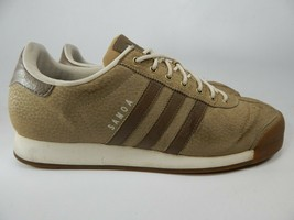 Adidas Originali Samoa Misura 12 M (D) Eu 46 2/3 Uomo Scarpe Sneakers Beige