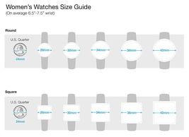 I.N.C. Women's Gold-Tone Bracelet Black w Pearl Accents Dial 36mm Quartz Watch image 6